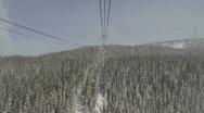 Stock Video Footage of Whistler Peak to Peak