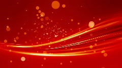 Abstract red Stock Footage