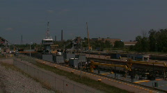 LOCK 4 WELLAND CANAL Stock Footage