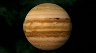 Stock Video Footage of jupiter
