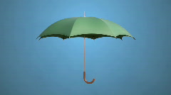 Umbrella - stock footage