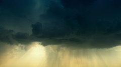 Raincloud 5 - stock footage