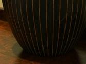 Stylish Mango Wood Vase Stock Footage