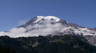 Stock Video Footage of Mt Rainier time lapse