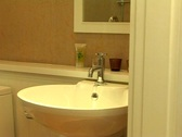 Stylish Bathroom Sink Stock Footage
