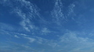 Stock Video Footage of blue sky timelapse A hdp