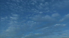 Blue sky timelapse D hdp Stock Footage