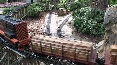 Garden Trains - stock footage