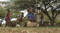 Swaziland Dance - stock footage