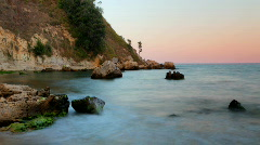 Karadere beach bulgaria nature coast sea beach Stock Footage