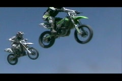 Motocross1 Stock Footage