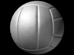 Volleyball Loop-5 Sec Y Rotate-D1 Stock Footage