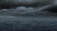 Ocean Storm Stock Footage
