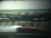 Stock Video Footage of 50s drag races 2
