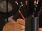 Stock Video Footage of Pencil Writes