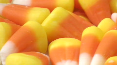 Candy corn macro loop V1 - HD  Stock Footage