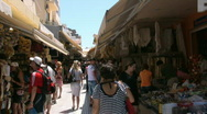 Stock Video Footage of The streets of Heraklion