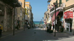The streets of Heraklion Stock Footage