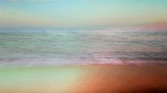Karadere beach bulgaria nature coast sea beach Stock Footage