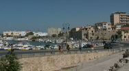 Stock Video Footage of The harbor of Heraklion
