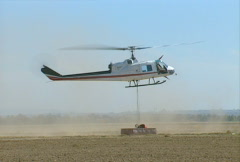 Aerial Firefighting 02 - stock footage