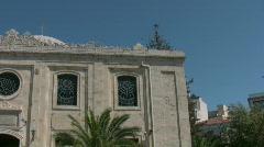 Church in Heraklion Stock Footage