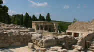 Stock Video Footage of Knossos Palace