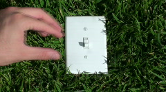 Switch to green V1 - HD  Stock Footage