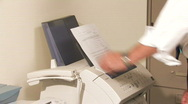 Stock Video Footage of Business Fax