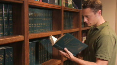 Law Library - stock footage