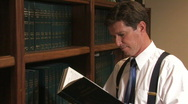 Stock Video Footage of Law Library