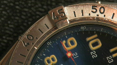 Watchface Macro HD Stock Footage