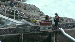Fishing, First Nation, Canada Stock Footage