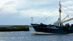 Fishing Boat 3 Stock Footage