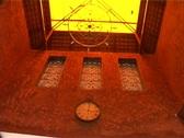 Shot Of A Beautifully Decorative Skylight Stock Footage