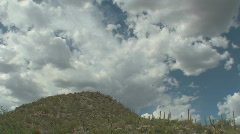 Clouds Over Desert Arkistovideo