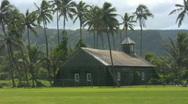Old Church or School Maui 02 Stock Footage