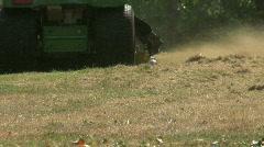Riding Mower Cutting Tall Grass Stock Footage