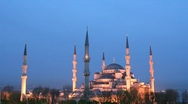 Stock Video Footage of Blue Mosque