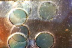 Film Holes Loop V.2 - Vintage Super8 Film - stock footage