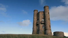 Broadway Tower Stock Footage