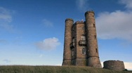 Stock Video Footage of Broadway Tower