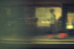 Train window travelling Montage - Vintage Super8 Film Stock Footage