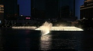 Stock Video Footage of Water Show at Bellagio Hotel in Las Vegas
