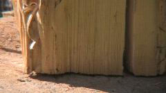 Wood chop 2 Stock Footage