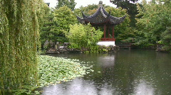 Dr. Sun Yat-Sen Classical Chinese Garden Vancouver Canada Stock Footage