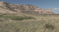 P00527 Scotts Bluff National Monument Stock Footage