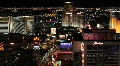 Las Vegas Strip at Night Footage