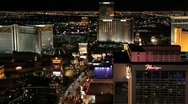 Stock Video Footage of Las Vegas Strip at Night