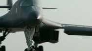 Stock Video Footage of B1 Lancer